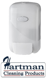 431601- Euro Pearl WHITE foam zeep- en toiletseatcleanerdispenser 400 ml