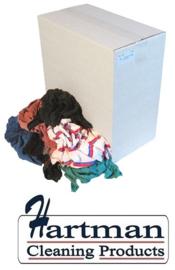 P23110 - Poetslappen BTRO – bonte tricot lappen origineel 10 kg