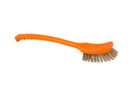 50130139-7 - FBK Langeborstel hoogwaardig polyester kleurcode HACCP 410 x 45 mm harde vezel , oranje 60215