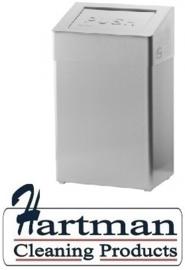2301043 AFP-C - RVS AFP-C afvalbak 50 liter gesloten, ABU 50 E SanTral