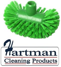 50520108-5 - Hoogwaardige FBK kleurcode HACCP hygiënische polyester medium tankborstel 200 x 120 mm groen 27134