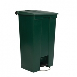 GG989 - Rubbermaid afvalcontainer groen 87ltr