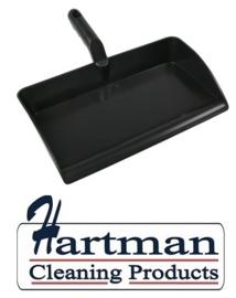 80090105-6 - FBK Stofblik ergonomisch hoogwaardige kleurcode HACCP hygiënische polypropyleen 300 x 310 mm zwart 80301