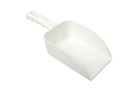 21190102-1 - FBK Handschep hoogwaardige kleurcode HACCP hygiënische polypropyleen handschep 110 x 150 x 265 mm, wit 15105
