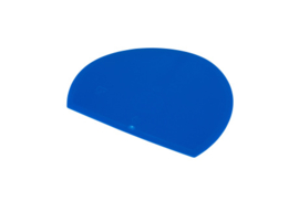 62580117 - Hoogwaardige kleurcode HACCP hygiënische deegschraper 160 x 125 mm,blauw