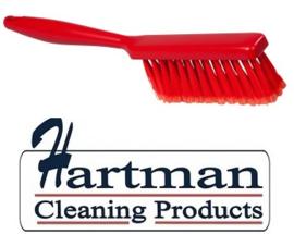 40530102-3 - Handveger FBK gespletenvezel kleurcode HACCP 340 x 35 mm ,zacht rood 10253