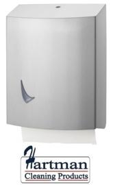 2201423 - RVS AFP-C Santral handdoekdispenser RVS mat geslepen