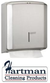 12922 - Handdoekdispenser RVS, DT2106CS Mediclinics