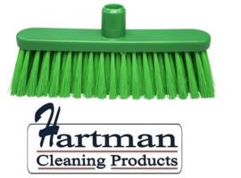 20910115-5 - FBK hoogwaardige kleurcode HACCP hygiënische bezem 280 x 48 mm ,zacht groen 24147