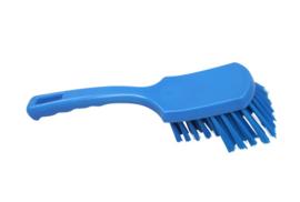 31430113-2 - FBK Handborstel kleurcode HACCP hoogwaardig harde gespreide vezel 275 x 70 mmblauw 10549