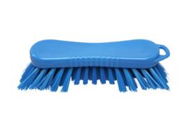 22030126-2 - FBK Polyester werkborstel kleurcode HACCP 210 mm x 70 mm harde vezel blauw 10565