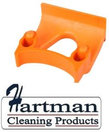 710102108-7 - FBK Klem voor wand railophangsysteem kleurcode HACCP ø 28 - 38 mm oranje 15151