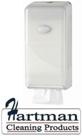 431006 - Europroducts Pearl White Jumbo Toiletrolhouder Bulk