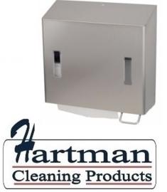 2201483 AFP-C - RVS AFP-C combinatiedispenser zeep- (rechts) & handdoekdispenser, CPU 2 R E SanTral