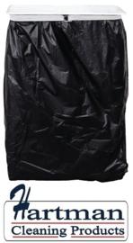 L549 - Jantex muurmodel vuilniszakhouder met 4 wandbevestigingen