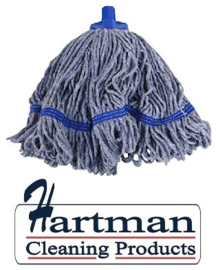 920139 - SYR mop, midi kleurgaren , diameter 43 cm Blauw