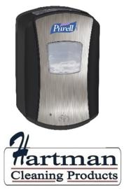 P1328-04 - Gojo LTX Purell dispenser, no-touch black 700 ml