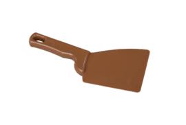 38180120-12 - FBK Spatel hoogwaardige kleurcode ergonomische 100 x 250 mm polypropyleen bruin 82900