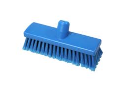 210161010-2 - Inwasborstel waterdoorlatend FBK hoogwaardige kleurcode HACCP FBK hygiënische polyester 225 x 60 mm gespleten vezel zacht blauw 22105