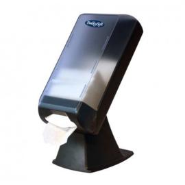 T01341 - Dispenser voor servetten, staand, grijs transparant