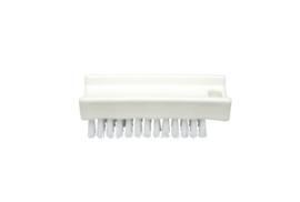 30030136-1  - FBK Nagelborstel hoogwaardig polyester kleurcode HACCP 110 x 45 mm medium vezel , wit 15060