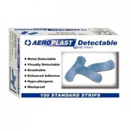 CD523 - Blauwe detecteerbare pleisters 100 stuks