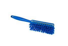 109151010-2 - Polyester handveger vezels in hars gegoten kleurcode HACCP 340 mm x 35 mm hard blauw 90255