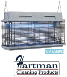 ME-308A - Elektrische insectenverdelger, UV-A lampen (2x 40 WATT) DIAMOND