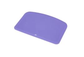 62380116 - Hoogwaardige kleurcode HACCP hygiënische deegschraper 146 x 98 mm, paars