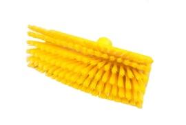 800151005-4 - Polyester FBK wasborstel vezels in hars gegoten kleurcode HACCP 280 mm x 48 mm zacht  geel 93135
