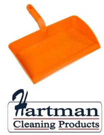 80090105-7 - FBK stofblik ergonomisch hoogwaardige kleurcode HACCP hygiënische polypropyleen 300 x 310 mm  oranje