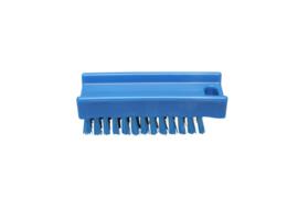 30030136-2 - FBK Nagelborstel hoogwaardig polyester kleurcode HACCP 110 x 45 mm medium vezel, blauw 15060
