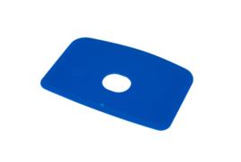 60180114 - Hoogwaardige kleurcode HACCP hygiënische deegschraper 146 x 98 mm,blauw