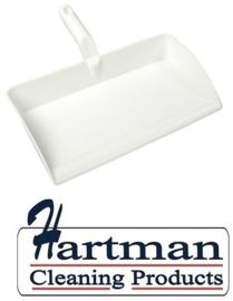 80090105-1 - FBK Stofblik ergonomisch hoogwaardige kleurcode HACCP hygiënische polypropyleen 300 x 310 mm wit 80301