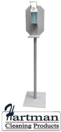 433902 - Desinfectiezuil met aluminium 500 ml Ingoman dispenser