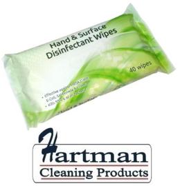 162DA300 - Ecotech Natural reinigingsdoekjes (40 stuks)
