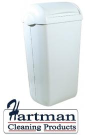 5653 - Hygiënebak kunststof 23 liter, PQH23 PlastiQline