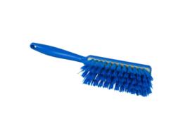 100151009-2 - Polyester handveger vezels in hars gegoten kleurcode HACCP 340 mm x 35 mm medium blauw 90252