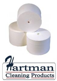 250202 -Toiletpapier Coreless 100% cellulose (zonder koker) compact 900 vel 2 laags à 36 rollen