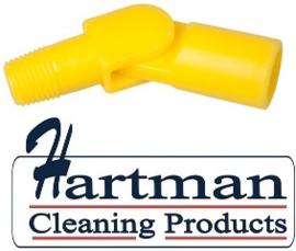 80027200-4 - FBK Hoogwaardige kleurcode HACCP hygiënische zwenkkoppeling universeel geel 27200