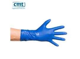 5100 - CMT high risk latex handschoenen, blauw, poedervrij, medium