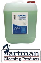 400003 - Euro handzeep de luxe, groen 10 Liter