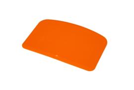 62280116 - Hoogwaardige kleurcode HACCP hygiënische deegschraper 146 x 98 mm oranje