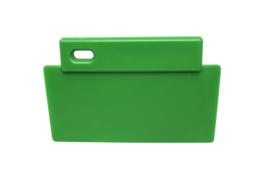 38180106-5 - FBK Spatel hoogwaardige kleurcode 200 x 125 mm polypropyleen groen 81900