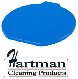 311106102-2 - FBK Deksel voor emmer 15 liter hoogwaardige kleurcode HACCP hygiënische polypropyleen blauw 80111