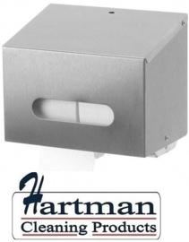 S3400222 - Sanfer RVS toiletpapierdispenser 2 Rollen