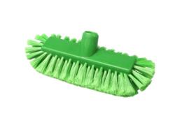 220161012-5 - Inwasborstel waterdoorlatend FBK hoogwaardige kleurcode HACCP FBK hygiënische polyester 290 x 130 mm gespleten vezel zacht groen 20105