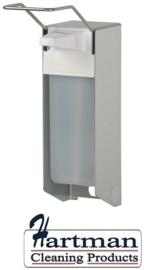 i1417600 - Ingo-man RVS Zeep- & desinfectiemiddeldispenser met lange beugel 1000 ml