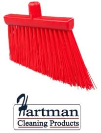 21410121-3 - FBK HCS Smalle bezem kleurcode HACCP 300 x 35 mm , stijf rood 20195