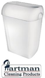 5650 - Afvalbak kunststof 43 liter half open, PQA43 PlastiQline